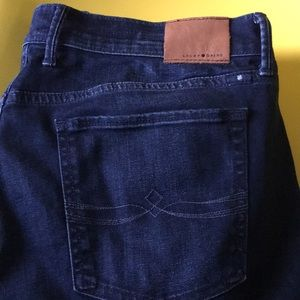 """12/31 LUCKY BRAND sweet'n straight jeans 30""""long"""